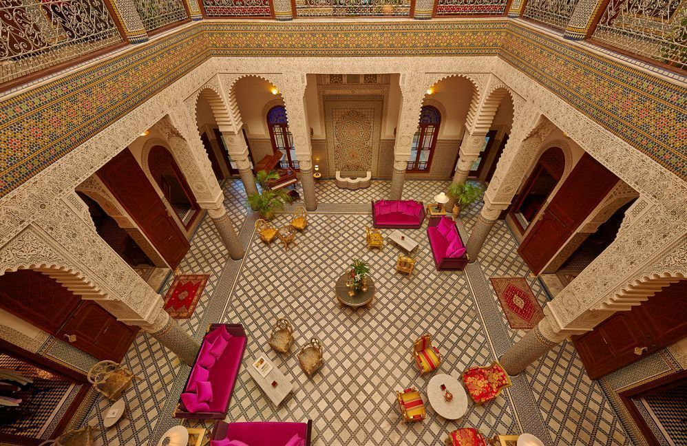 Riad Fes Hotel - Patio