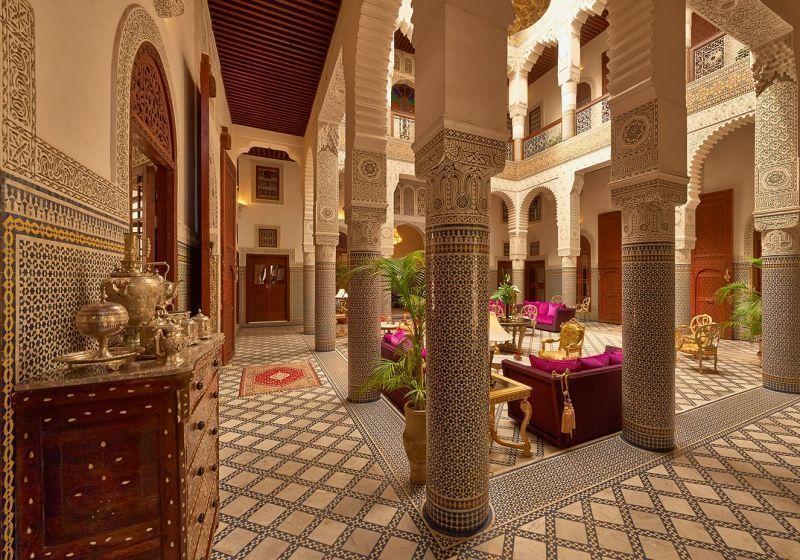 Riad Fes Hotel - Patio