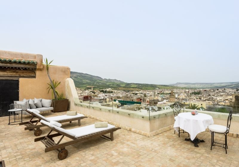 Riad Fes Hotel - Terrasse
